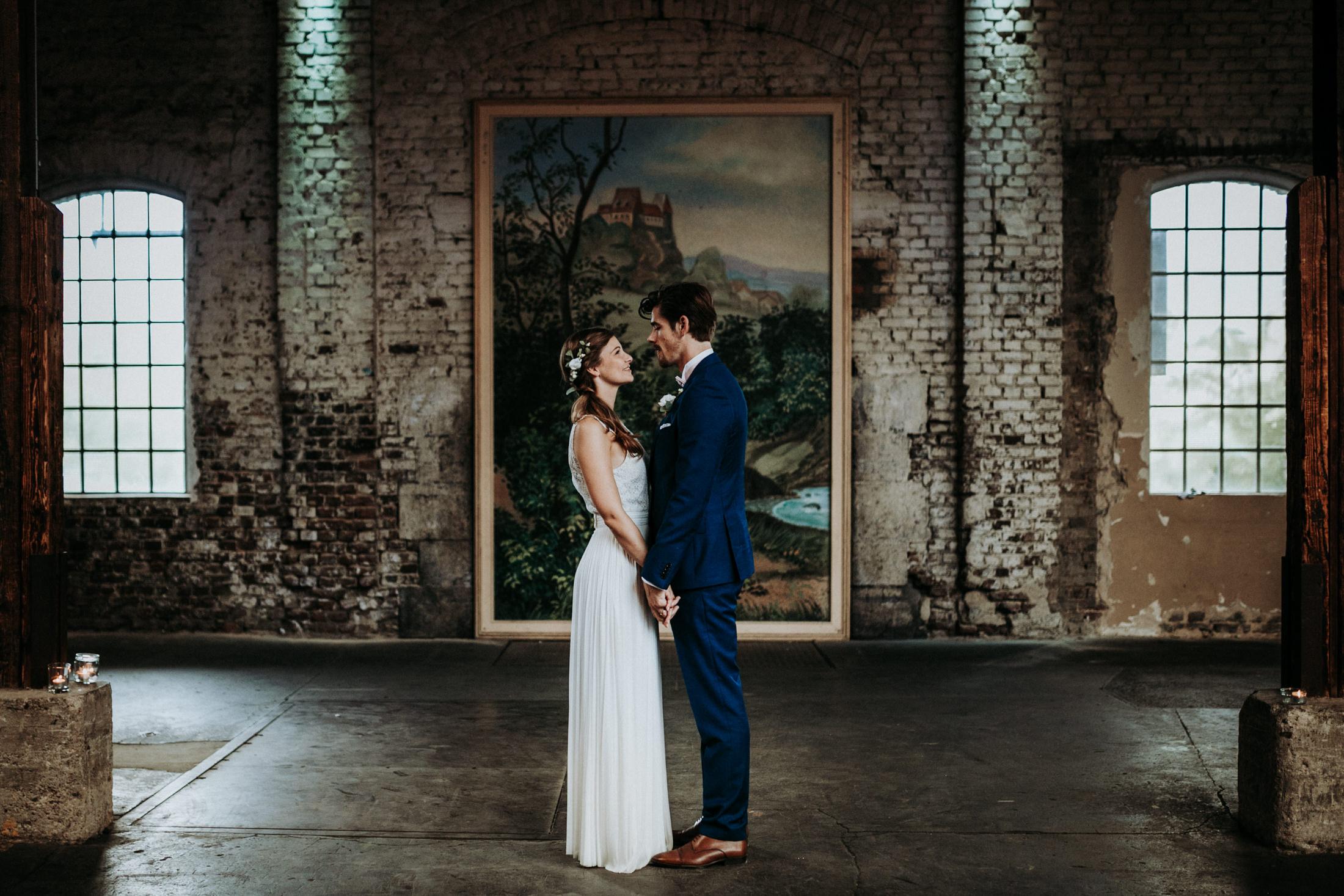 Hochzeit Wedding Jenny & Sander, Gare du Neuss,
